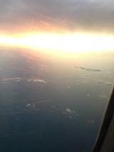 Sunset over Bahamas